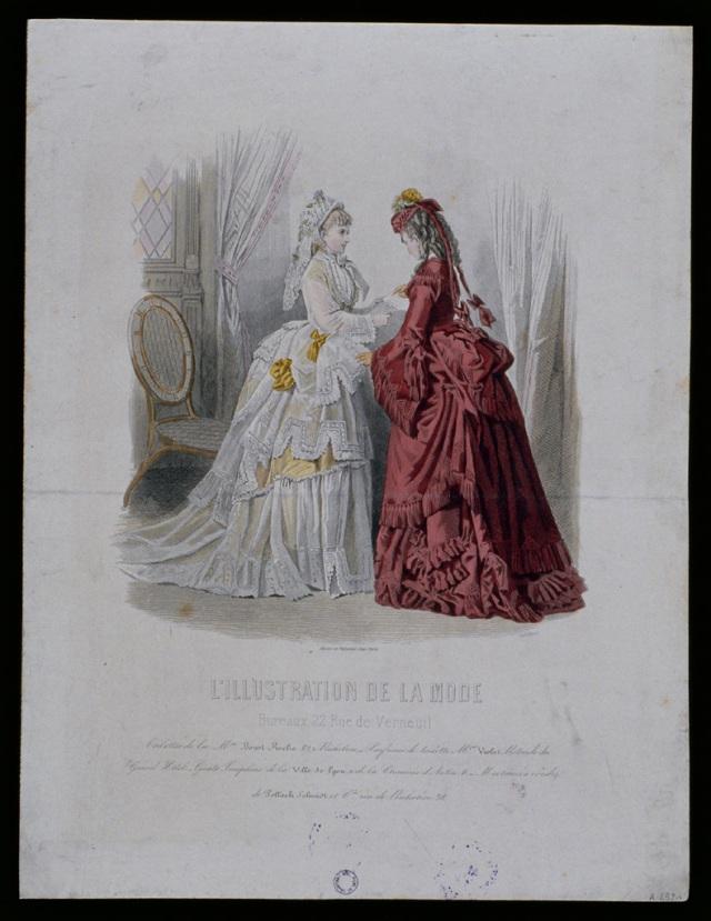 How fashions change XIX Century