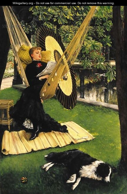 The Hammock by James Jacques Joseph Tissot