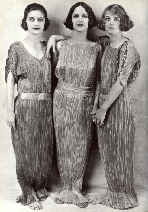 Delphos Dress by Mariano Fortuny