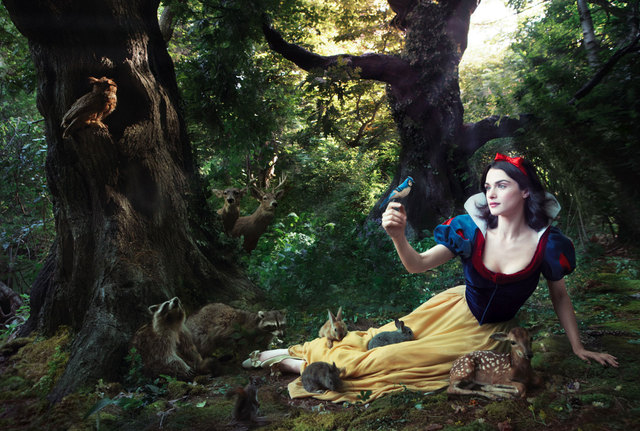 Fashion Fairytale: Snow White
