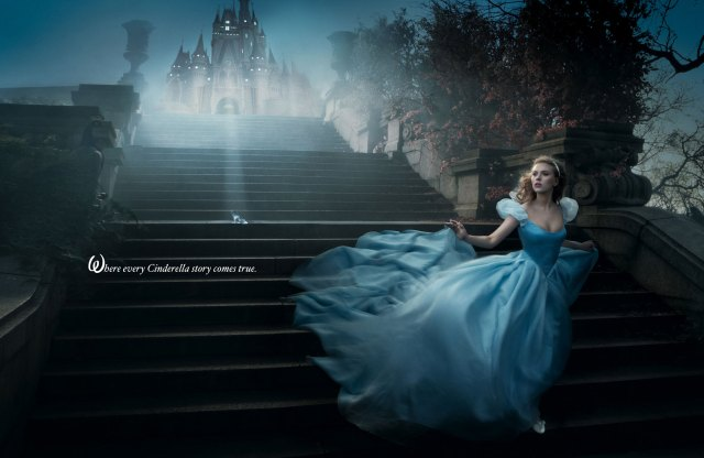 Fashion Fairytale: Scarlett Johansson like Cinderella
